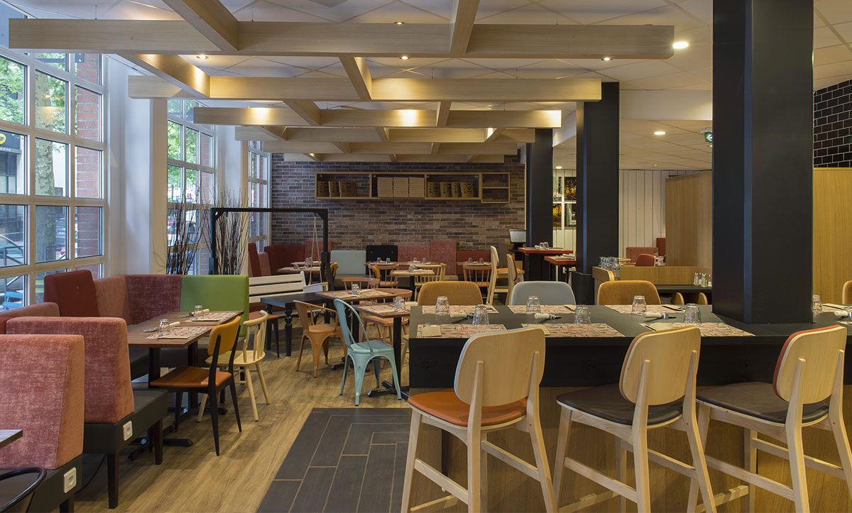 un restaurant flam's à l'ibis lille roubaix centre grand place